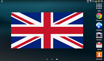Screenshot of Flag Widget HD