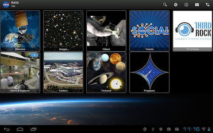 NASA App Screenshot 1
