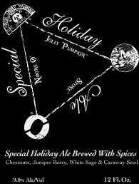 Logo of Stone / Nogne O / Jolly Pumpkin Special Holiday Ale