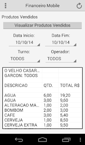 Financeiro Mobile screenshot 2