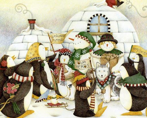 卡通聖誕壁紙