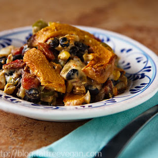 Pumpkin and Black Bean Casserole.