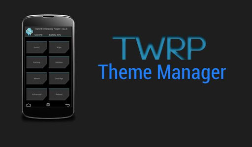 TWRP Theme Manager