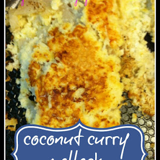Coconut Curry Pollock
