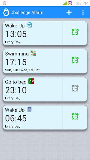 Challenge Alarm