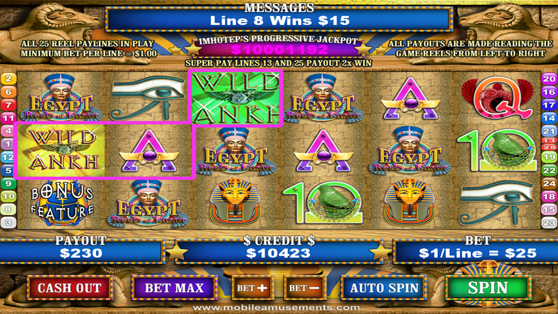 Lucky Drink in Egypt Slot - Try Playing Online for Free