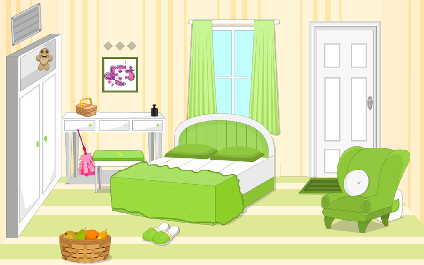 Escape Games Puzzle Bedroom 1 Screenshot