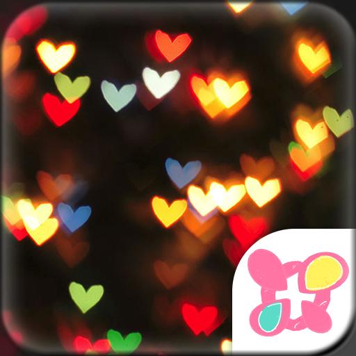 Love Theme-Heart Lights- Icon