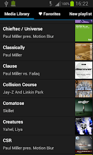 Inline Music Player- screenshot thumbnail