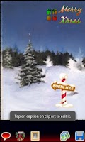 Screenshot of Caption Magic Xmas