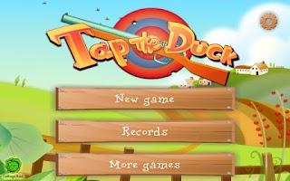 Screenshot of Tap the Duck