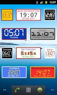 WordPress › World Clock Widget « WordPress Plugins