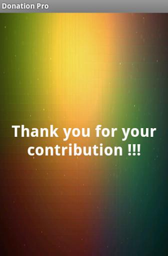 Donation Pro