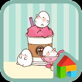 Egg mong(dessert)Dodol Theme