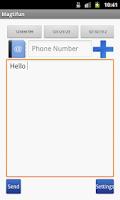 Screenshot of Magtifun SMS Sender