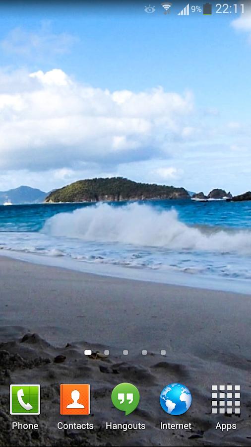 Ocean Waves Live Wallpaper  Screenshot