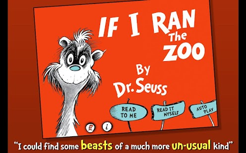 If I Ran the Zoo - Dr. Seuss - screenshot thumbnail