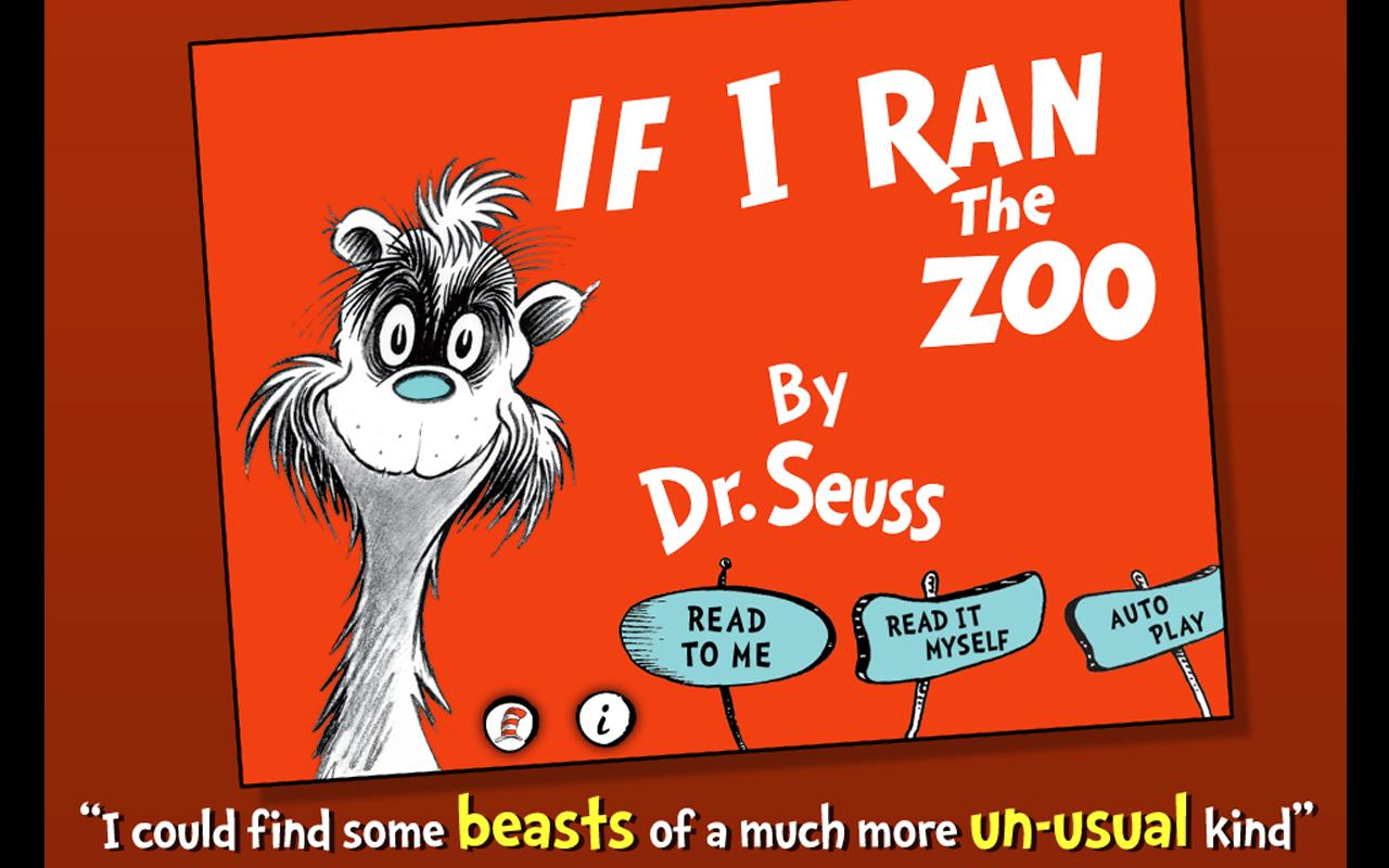 If I Ran the Zoo - Dr. Seuss- screenshot