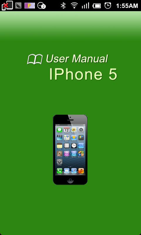 iPhone 5 User Manual - screenshot