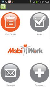 MobiWork - náhled