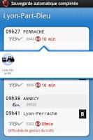 Screenshot of Horaires TER SNCF