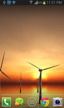 Sunset Windmill Live Wallpaper 105 Screenshot 1537379