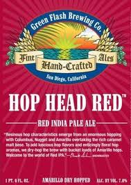 Logo of Green Flash Hop Head Red
