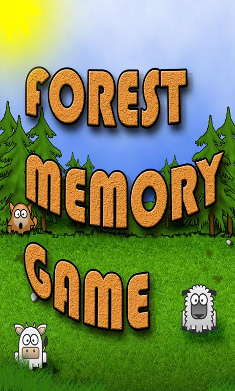 Forest Memory Game - screenshot