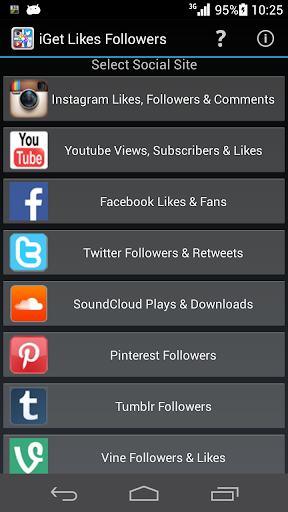 Get Social Likes Followers Now