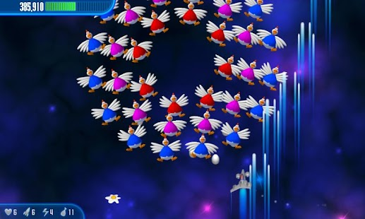 Chicken Invaders 3 HD (Tablet) - screenshot thumbnail