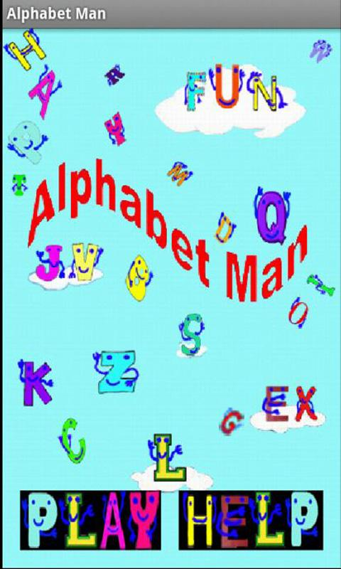 Alphabet Man- screenshot