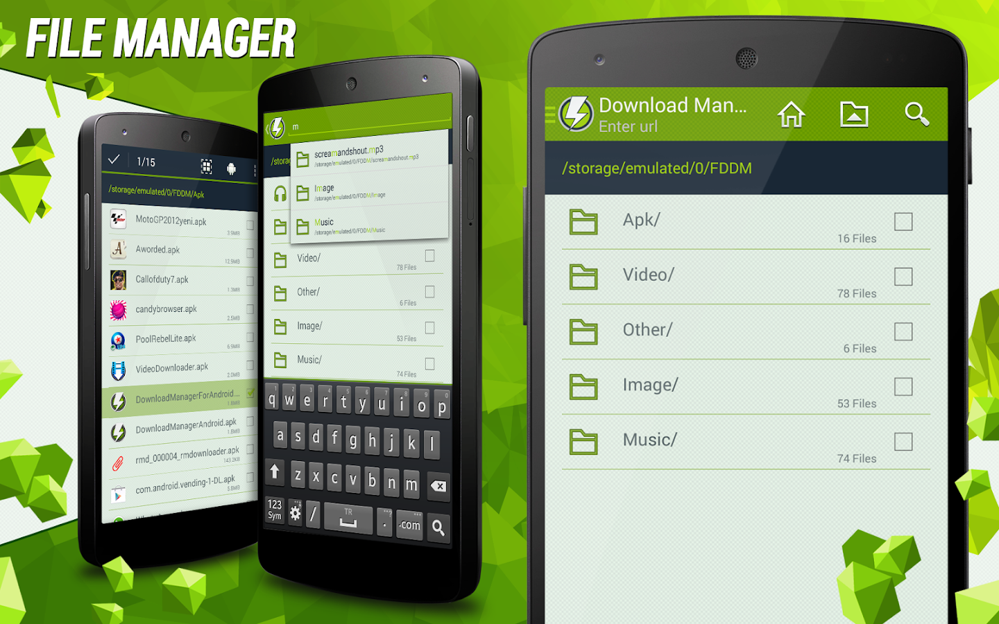 Android App Download Manager