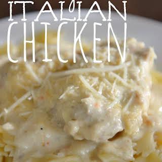 Creamy Italian Chicken.