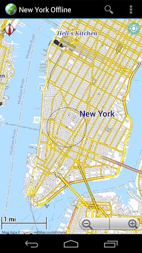 Offline Map New York City