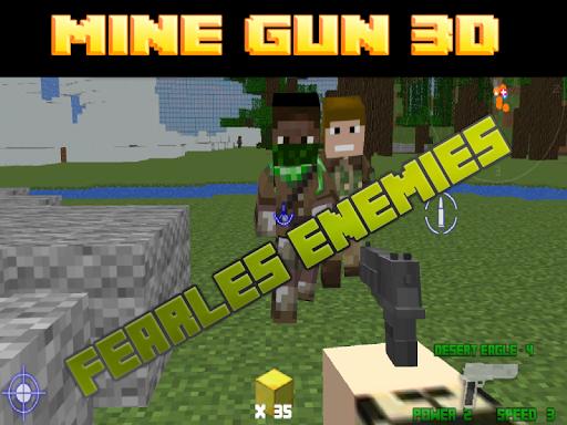 玩動作App|矿枪3d Mine Gun 3d - FPS免費|APP試玩