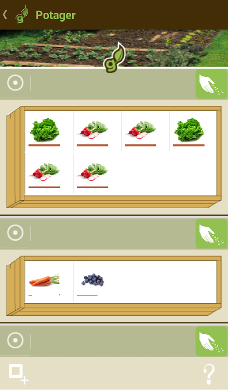 Gardening Manager - screenshot