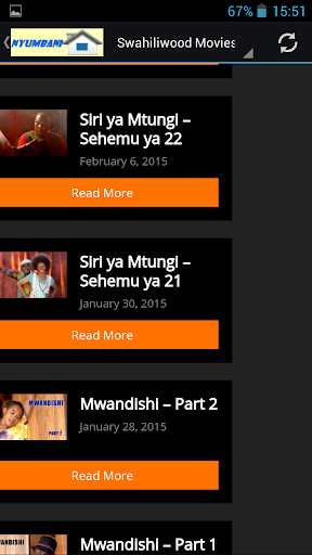 Swahili Bongo Movies