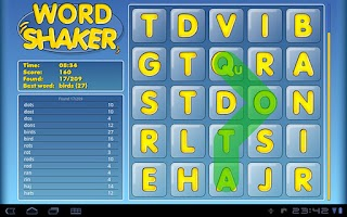 Screenshot of Word Shaker Free