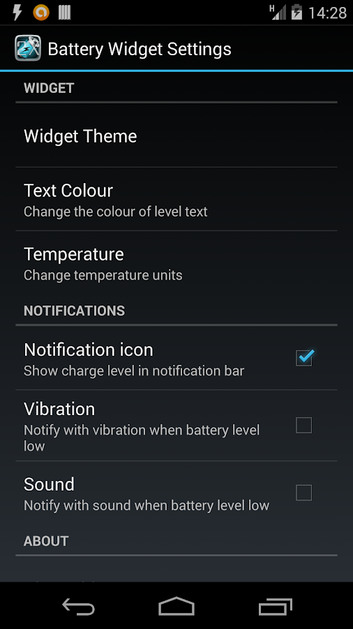 Battery Booster Pro + Widget - screenshot