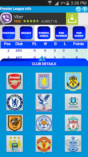 Premier League Info- screenshot thumbnail