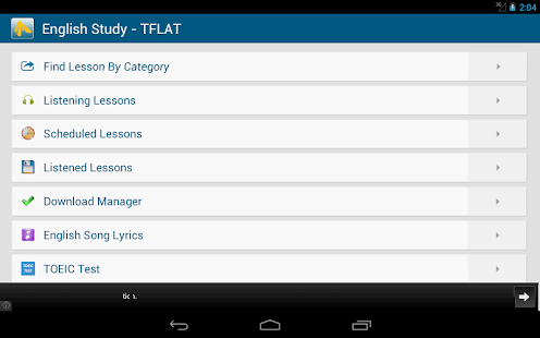 English Study Free - TFLAT - screenshot thumbnail
