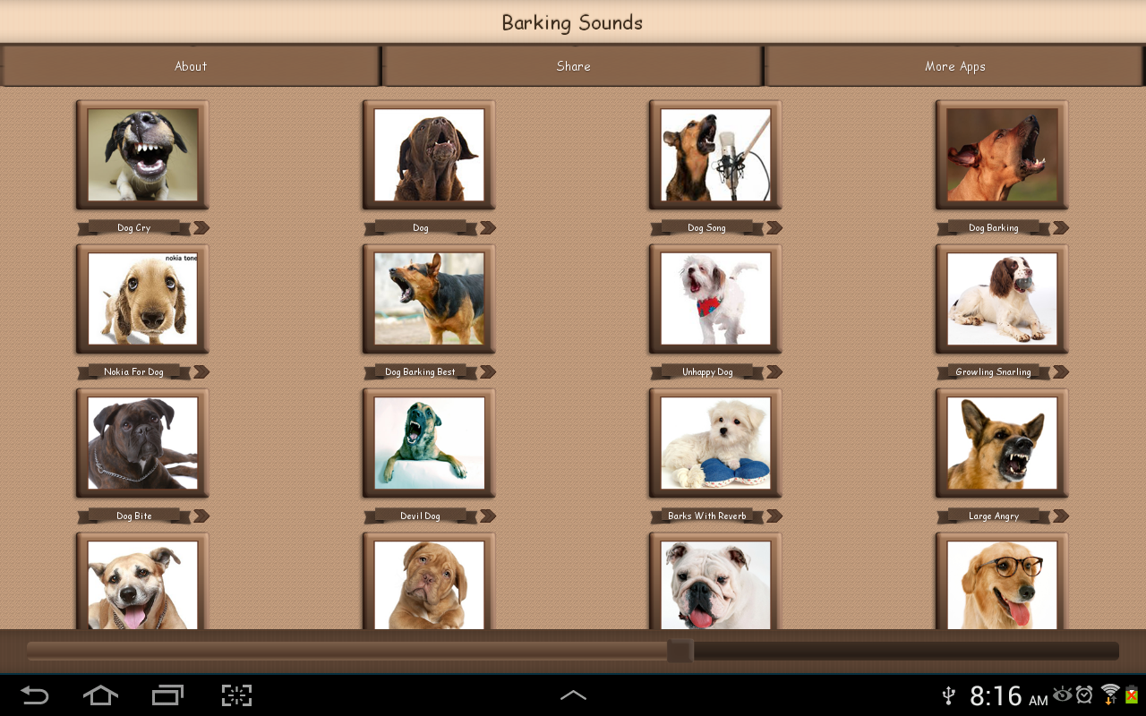Barking  Dog Sounds - screenshot