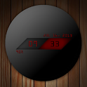 UCCW Skin - Dark Sphere Clock