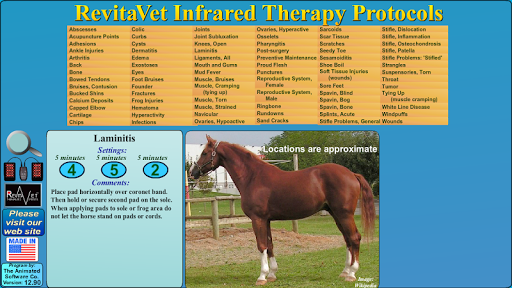 RevitaVet Infrared Therapy 20.60 screenshots 1