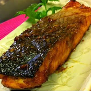 Hoisin Glazed Salmon.