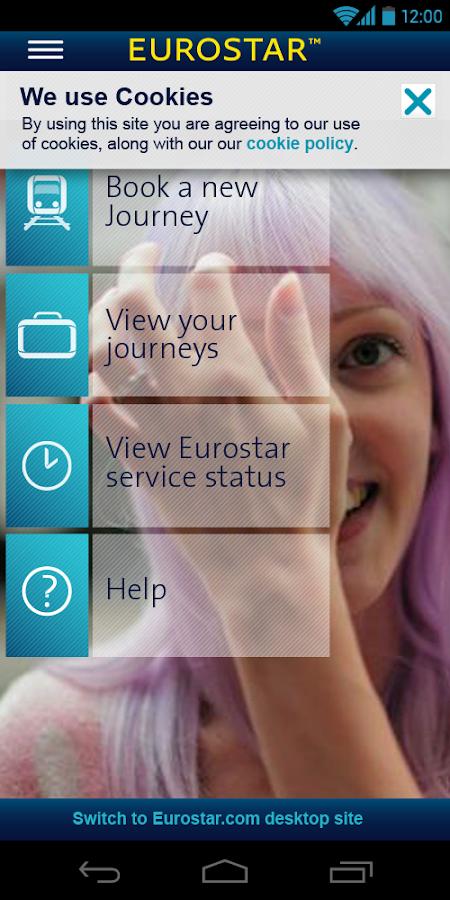 Eurostar Trains - screenshot