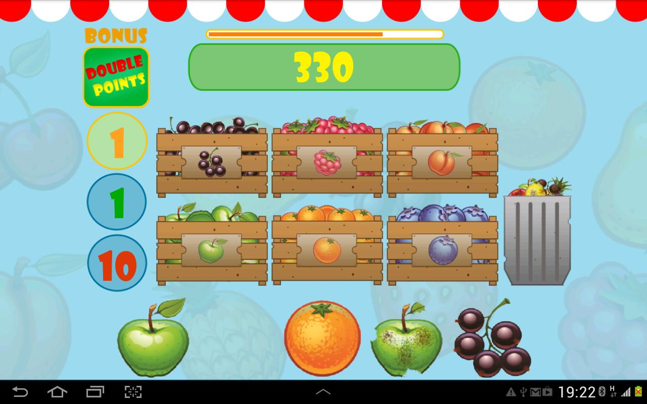 FruitBox - screenshot