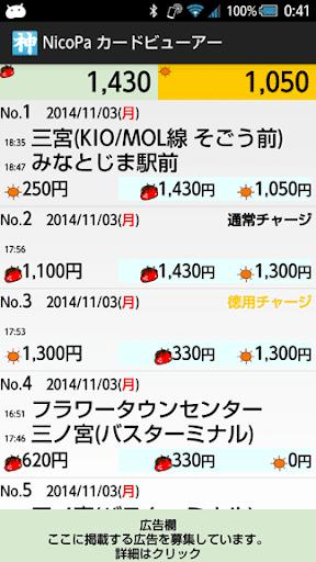 NicoPa カードビューアー
