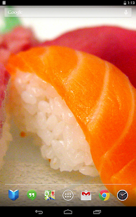 Delicious Sushi Live Wallpaper - screenshot thumbnail