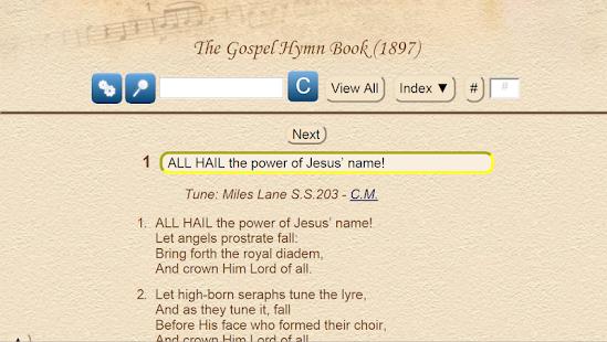 The Gospel Hymn Book UK 1897